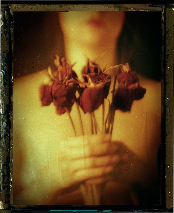 Photography, Polaroid, instant film in People, Nude, Female, Graflex Speed Graphic, Aero Ektar 178 mm 2.5 lens, Negative from Fuji FP-100C instant film - Image #210626