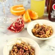 Brown Sugar, Rosemary and Cayenne Candied Red Walnuts