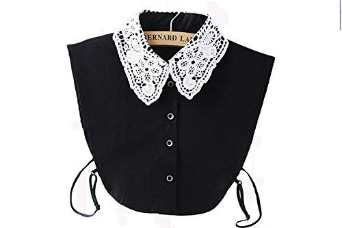 Lace Fake Collar Cotton Choker Tie Vintage Half Shirts Blouse Dickey (3 Types) Angelsweet http://www.amazon.com/dp/B01ABSTJ84/ref=cm_sw_r_pi_dp_9VBYwb056V4VN