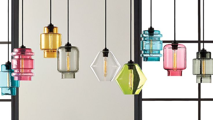 Niche Modern . Crystalline Series #lighting #design #products #glass #pendants #decorative