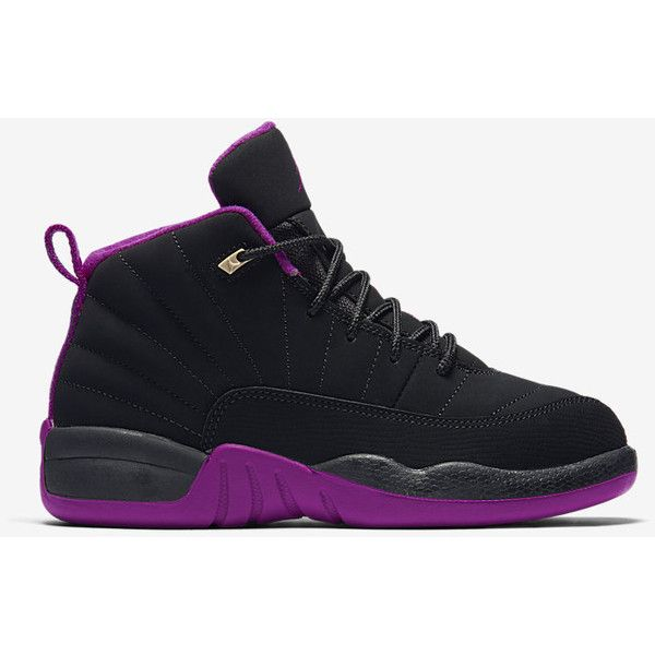 brand new b1a78 c9aaa Air Jordan 12 Retro (10.5c-3y) Little Kids  Shoe. Nike.com ( 80) ❤ liked on  Polyvore featuring sneakers   polyvore    Pinterest   Jordans, Air jordans  and ...