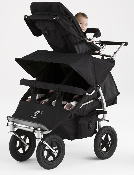 Triple Pram | Triplet Pram | ABC Adventure Triple Buggy-I think I need this!  Too bad they are out of New Zealand!