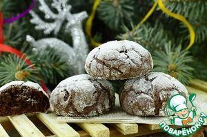 """Шоколадное печенье """"Снежные холмики"""""""