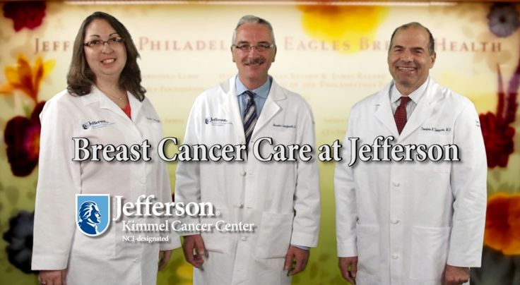 Learn about breast cancer care at Jefferson in this video and join us and the Philadelphia Eagles as we Tackle Breast Cancer (#EaglesTBC): http://sm.tjuh.org/t41