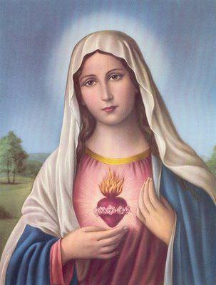 Sacro cuore di Maria / Hati kudus Maria