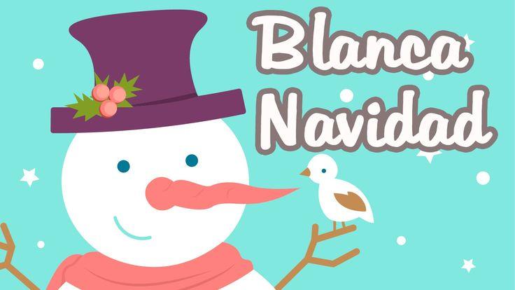 Blanca Navidad con Letra - Karaoke Instrumental | Villancicos Canciones ...