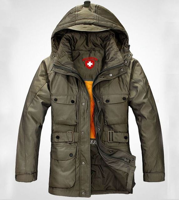New 2015 Winter Men'S Down Jacket Brand Natural Fur Collar Plus Thick Jaket Men fashion brand warm Coat  US $75.94 /piece  CLICK LINK TO BUY THE PRODUCT  http://goo.gl/oYWEYs