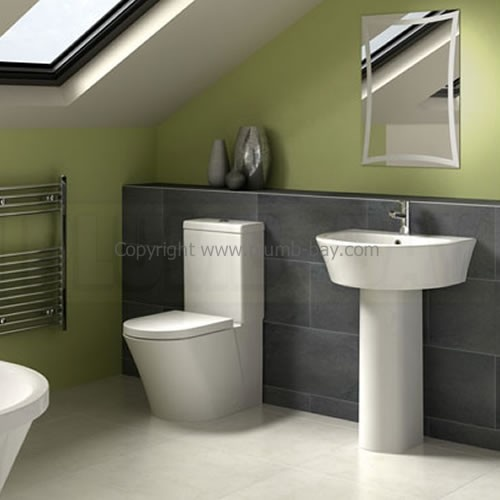Fressh Designer Bathrooms are the perfect selection for affordable quality bringing you sleek, modern features but at an affordable cost. The Halo 4 Piece Bathroom Suite hides all unsightly pipework for a smart, clean look. - http://www.plumb-bay.com/fresssh-halo-suite