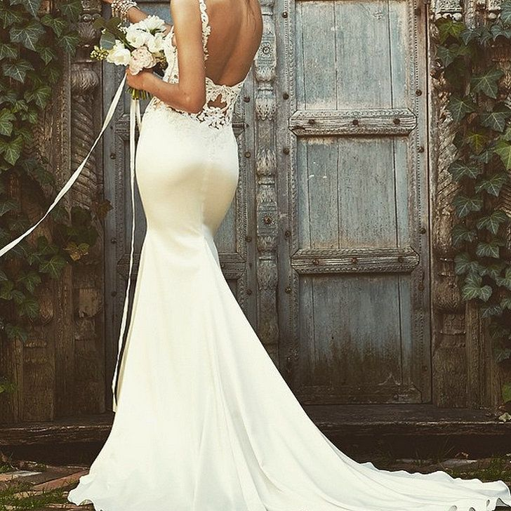 The 70 most breathtaking wedding dresses on instagram for Lace wedding dress instagram