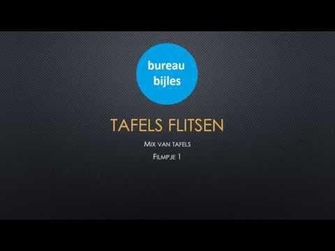 Tafels flitsen mix filmpje 6 - YouTube