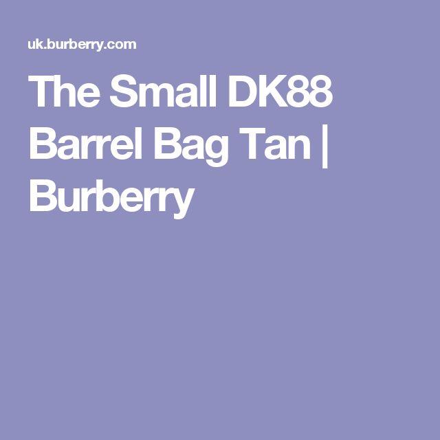 The Small DK88 Barrel Bag Tan | Burberry