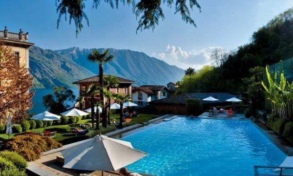 Grand hotel Tremezzo-como, Italy