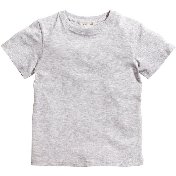 Basic T-shirt $5.95 ($3.74) ❤ liked on Polyvore featuring tops, t-shirts, shirts, baby, jersey shirt, basic t shirt, shirt jersey, h&m t shirts and basic tee shirts