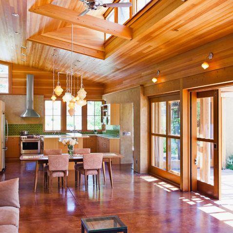 douglas fir ceiling | rush - living | Pinterest | Douglas ...