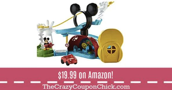 **HOT** Mickey Mouse Clubhouse Playset ONLY $19.99 (Originally $29) on Amazon!