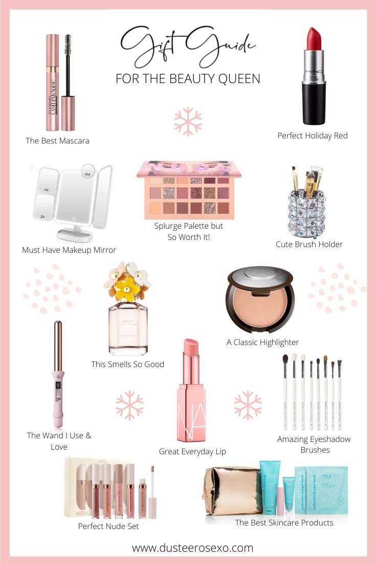 Gift Guide For The Beauty Queen Best Skincare Products Beauty Best Mascara