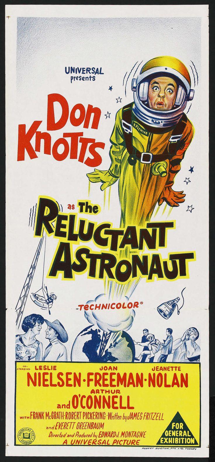 The reluctant astronaut don knotts leslie nielsen joan freeman jesse white