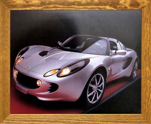 Lotus Elise Cool Car Wall Brown Rust Framed Wall Decor Pi... https://www.amazon.com/dp/B00HB2IJQW/ref=cm_sw_r_pi_dp_x_DgozybXVXSK8F