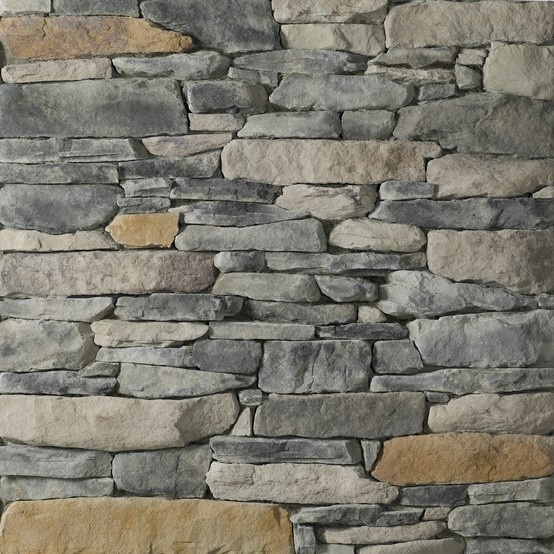 Glen gery landmark stone blue ridge ledgestone profile for Manufactured brick veneer