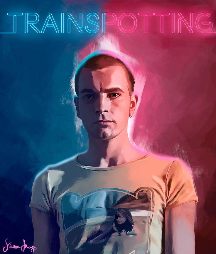 Trainspotting - movie poster - Kevin Monje