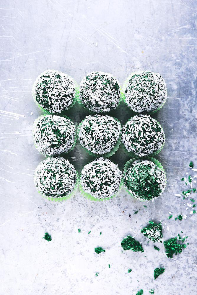 """Saveurs Végétales ► """"Snow Balls"""" à la Spiruline"""