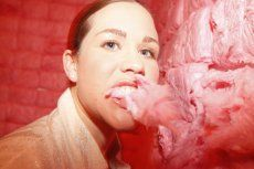 Padded Cell | November 6, 2010 | the walls and ceilingare are padded with pink cotton candy | Jennifer Rubell