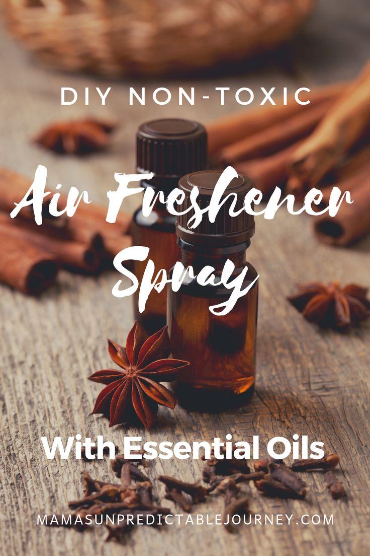 DIY NonToxic Air Freshener Spray With Essential Oils
