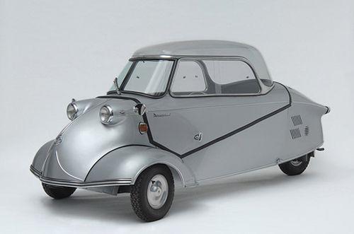 La Messerschmitt KR200 (1955) - Les voitures futuristes du passé - Fluctuat.net #retrofutur