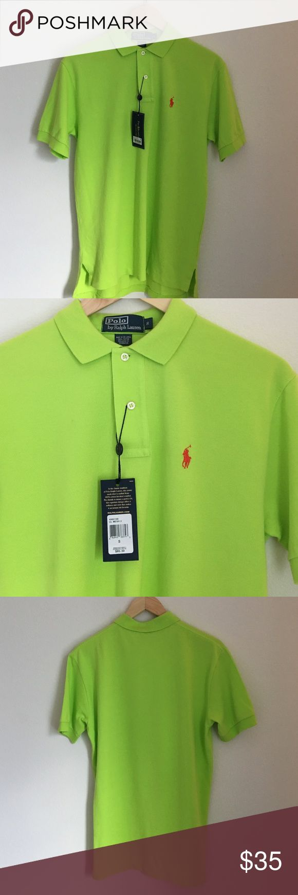 Polo by Ralph Lauren Lime Green Polo Shirt Brand New With Tags. Polo by Ralph Lauren Lime Green Polo Shirt in a Men's Size Small Polo by Ralph Lauren Shirts Polos