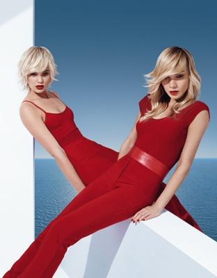Blond Zenith or Blond Essentiel shades - Collection Spring-summer 2013 - DESSANGE PARIS