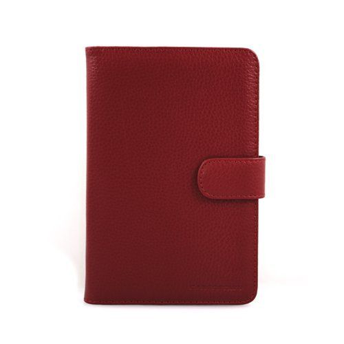 Casecrown Faux Leather Case (Red) for Kobo eReader by CaseCrown. $2.00. This CaseCrown Faux Leather Case will securely hold and protect your Kobo eReader. The exterior is made from high quality faux leather with fine stitching. Easily open this case by removing the leather strap with a cross stitched, hex-decorated magnetic clasp. This case will protect your Kobo eReader from scratches, fingerprints, and dust. The leather interior straps will hold the Reader securely in...