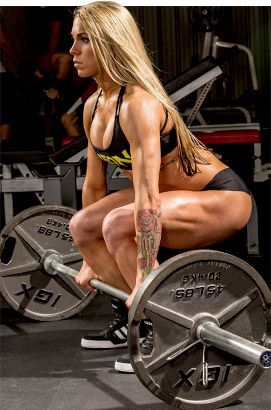 Bodybuilding.com - Women's Workout Plan: How Ashley Hoffmann Trains For Strength