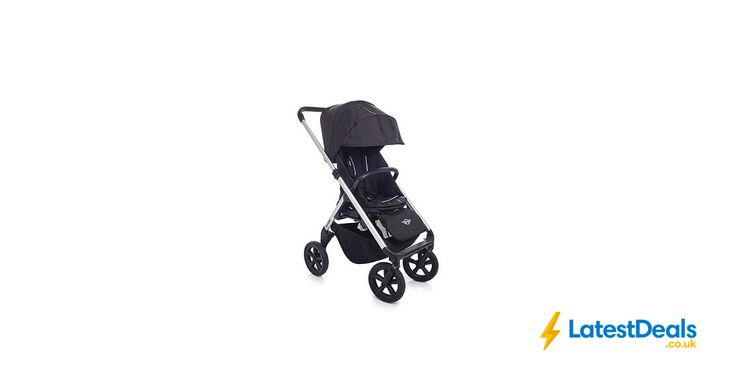 MINI Easywalker Stroller - Silver Frame/Black Wheels Save: £370.00, £60 at Mothercare