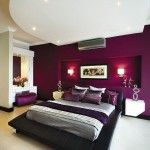 Purple Themed Master Bedroom Paint Color IdeasSource by snazziestgem