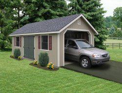 25 best ideas about prefab garages on pinterest garage for Apartment carport kits