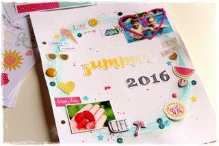 Tipy pro (nejen) letní deníky a alba | Nech se inspirovat... | Scrapbooking | Užitečné odkazy, tipy a triky | Polymerová hmota, kurzy fimo, eshop – Nemravka