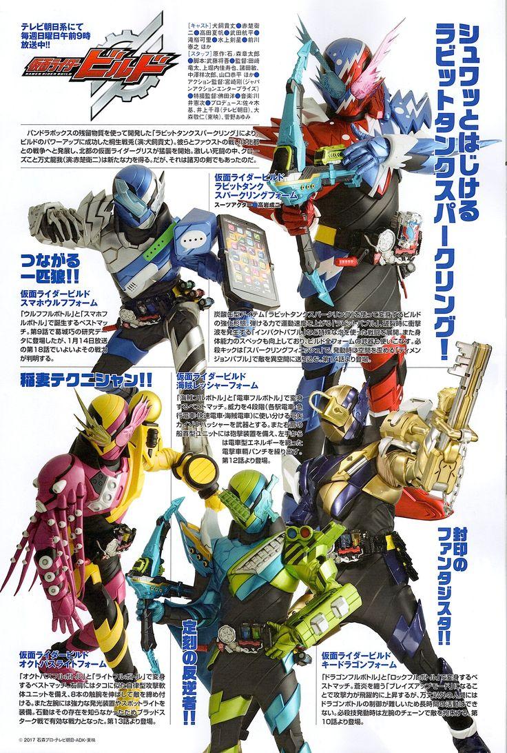 Kamen Rider Build in Uchusen 159