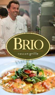 Italian Chain Restaurant Recipes: Brio Tuscan Grille...lobster ravioli