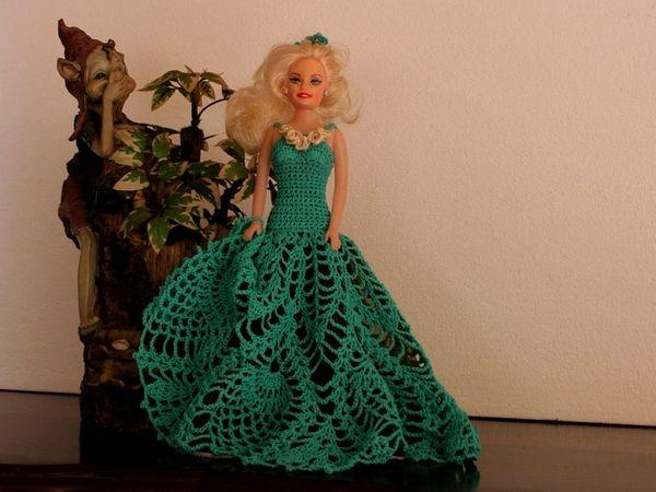 Pretty pineapple dress for dolls