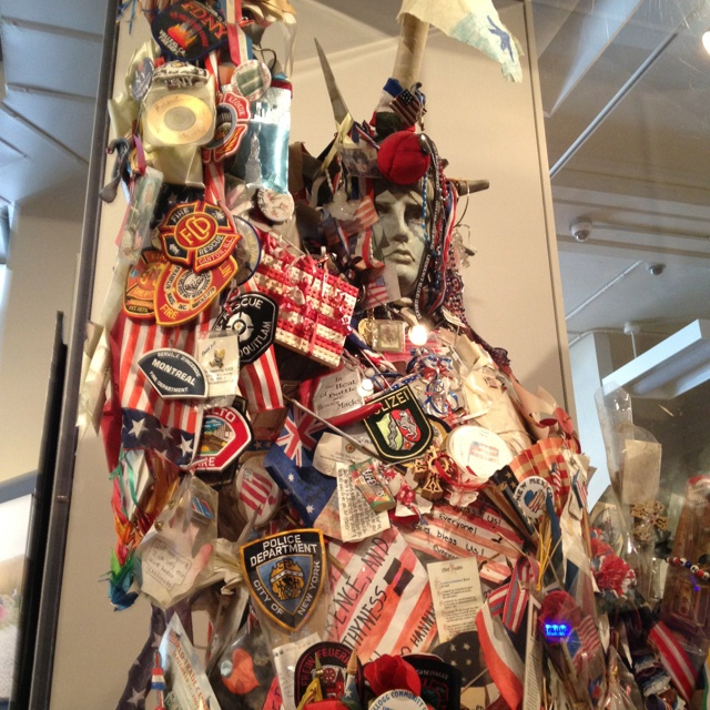 9/11 memorial museum NYC.  I have a picture of this
