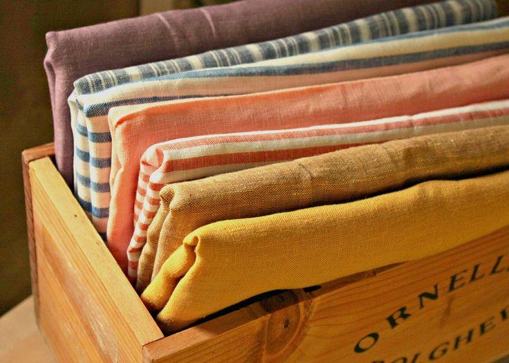 Linen flax farbric