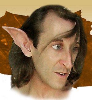 Goblin Troll Fairy Elf Cosplay LARP Halloween Latex Pointed Ear Tips.
