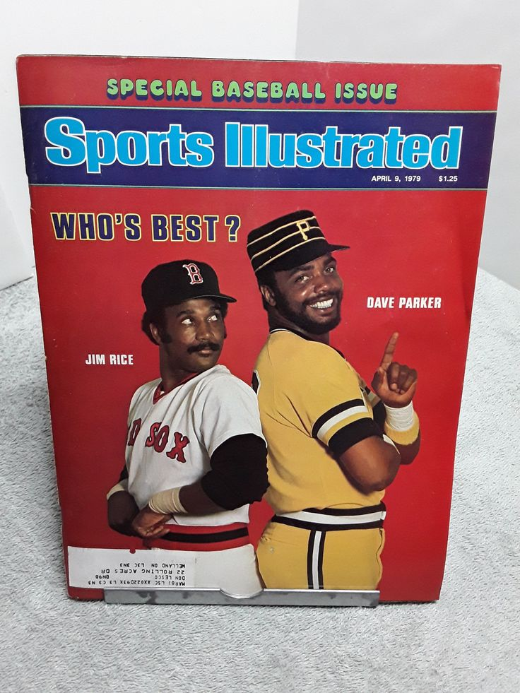 Sports Illustrated April 1979 Jim Rice Redsox Dave Parker