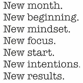 It's Here!! A New Month! A New Start! A New Challenge! Over 18 to choose…