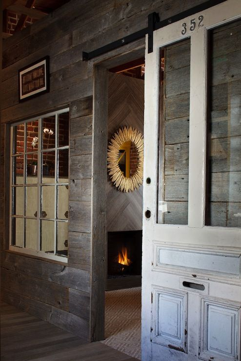 95 best images about rustic barn doors and sliding door - Interior sliding barn doors with windows ...