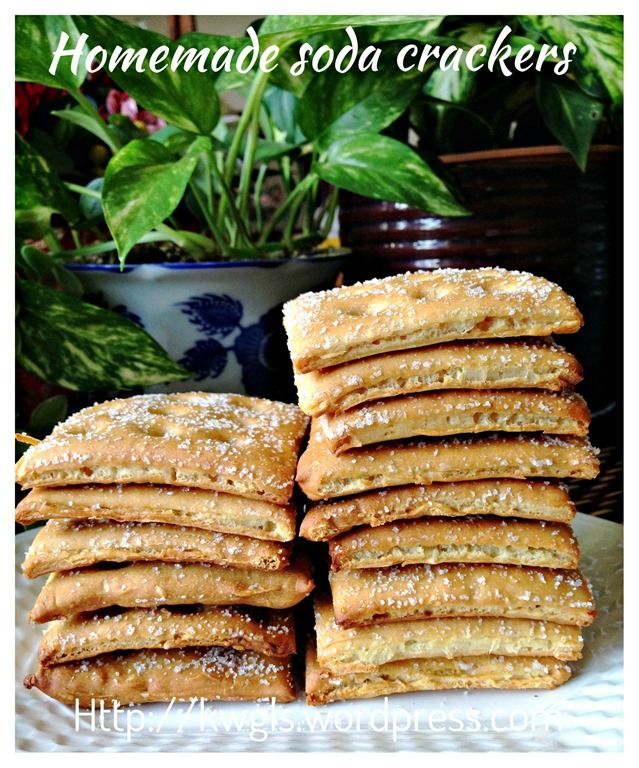 It Is Fun To Have Some Home Made Saltine Crackers or soda crackers  #kenneth goh   #guaishushu  #guai shu shu