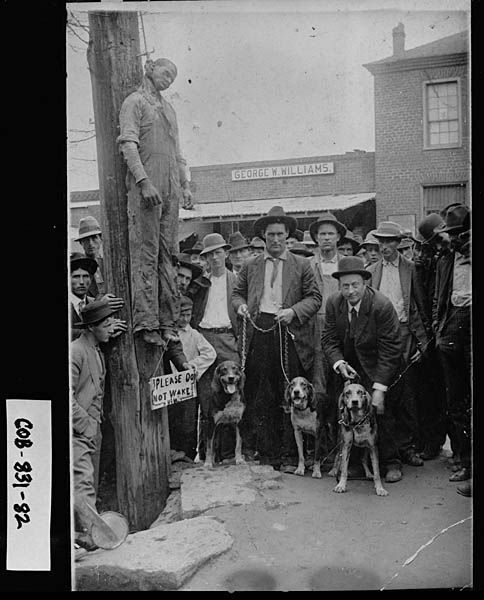 America and the issue of lynching african americans