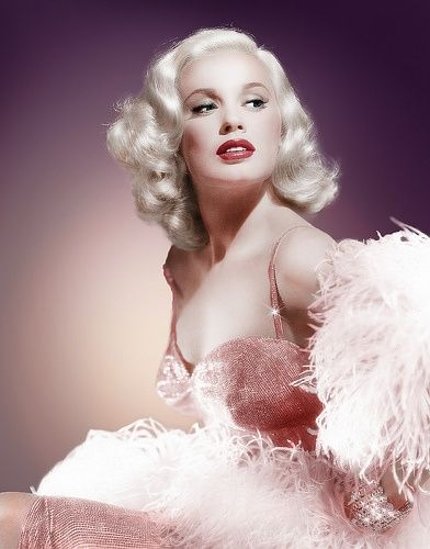 1950s hair & make up inspiration from Mamie van Doren