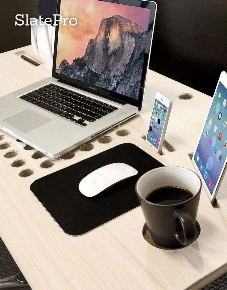 Personal Tech Desk For Your Home Office or Apartment Designed to organize you #Unbranded #Modern