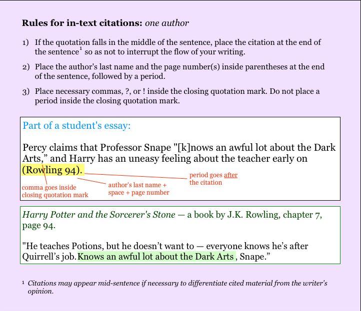 Mla Block Quote 7 Best Nri  Mla Images On Pinterest  Curriculum And Grammar